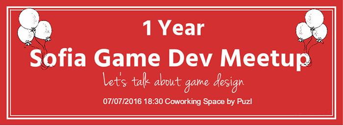 1 Year Sofia Game Dev Meetup