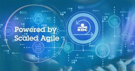 Центърът за дигитални технологии на KBC сертифицира хората си за Scaled Agile Framework