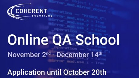 Coherent Solutions организира безплатен курс за QA специалисти